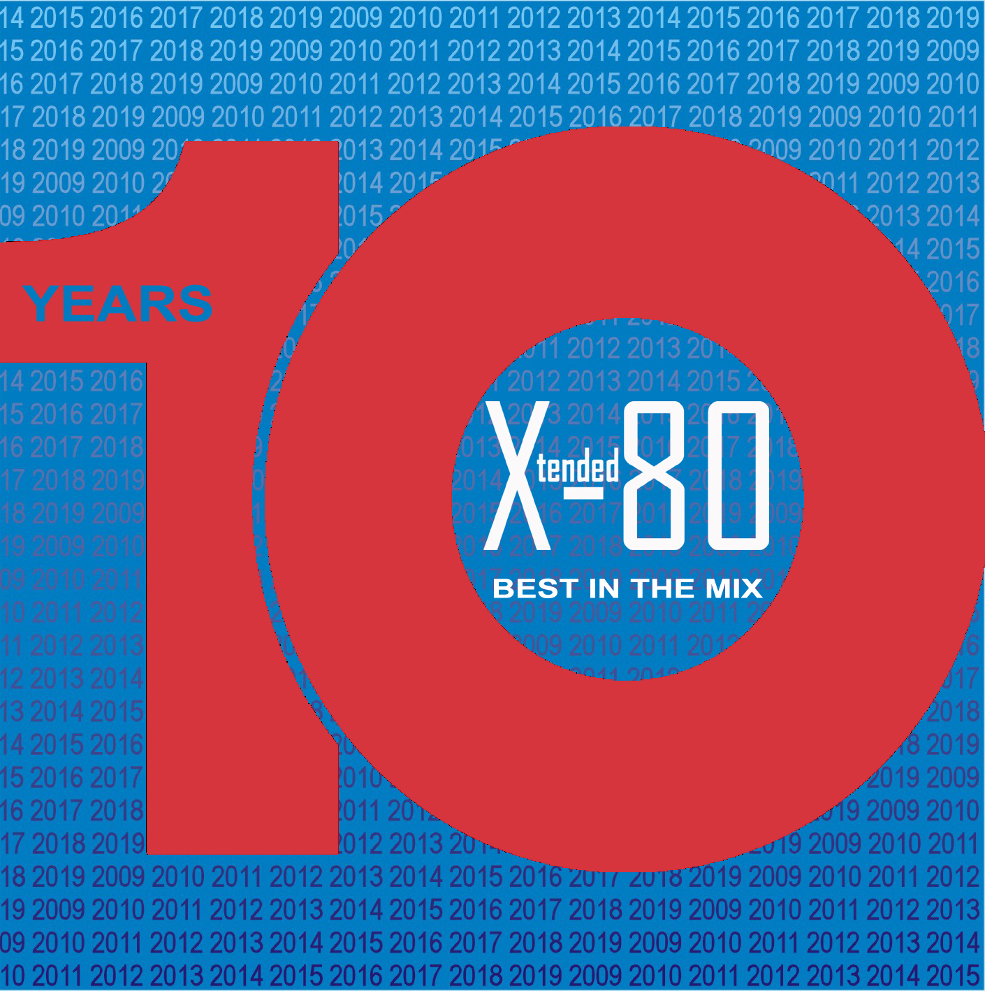 Xtended 80 Ten Years, Best In The Mix