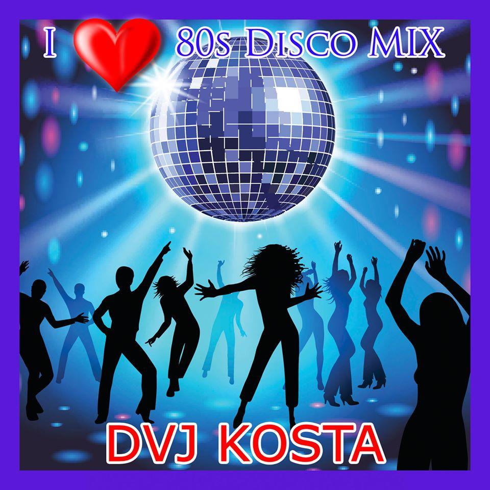 I Love 80s Disco Mix